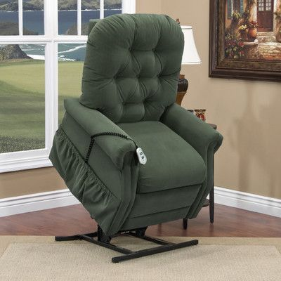 Med Lift 25 Series Tall Three Way Reclining Lift Chair Moveable