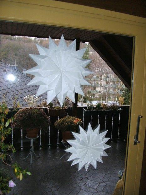 weihnachtsdeko preiswert ein stern mit 16 zacken basteln pinterest weihnachtsdekoration. Black Bedroom Furniture Sets. Home Design Ideas
