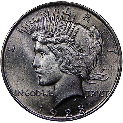 1922-1925 U.S. Peace Silver Dollar Coin