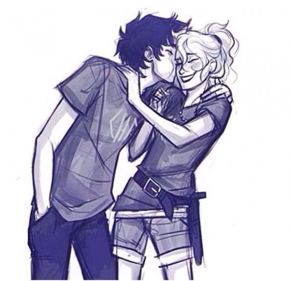 Percy and Annabeth #fanartdrawing #fan #art #drawing #percy #jackson