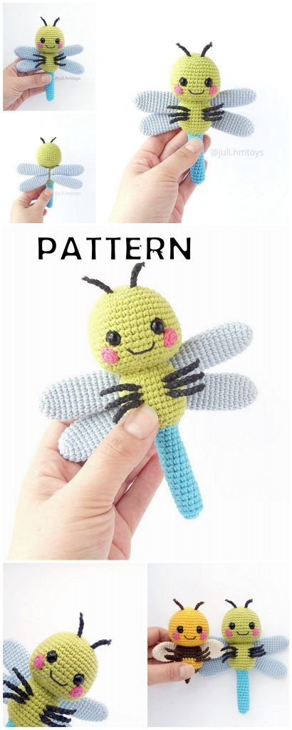 20 Top Best Amigurumi Doll and Animal Crochet Patterns - Amigurumi #amigurumidoll
