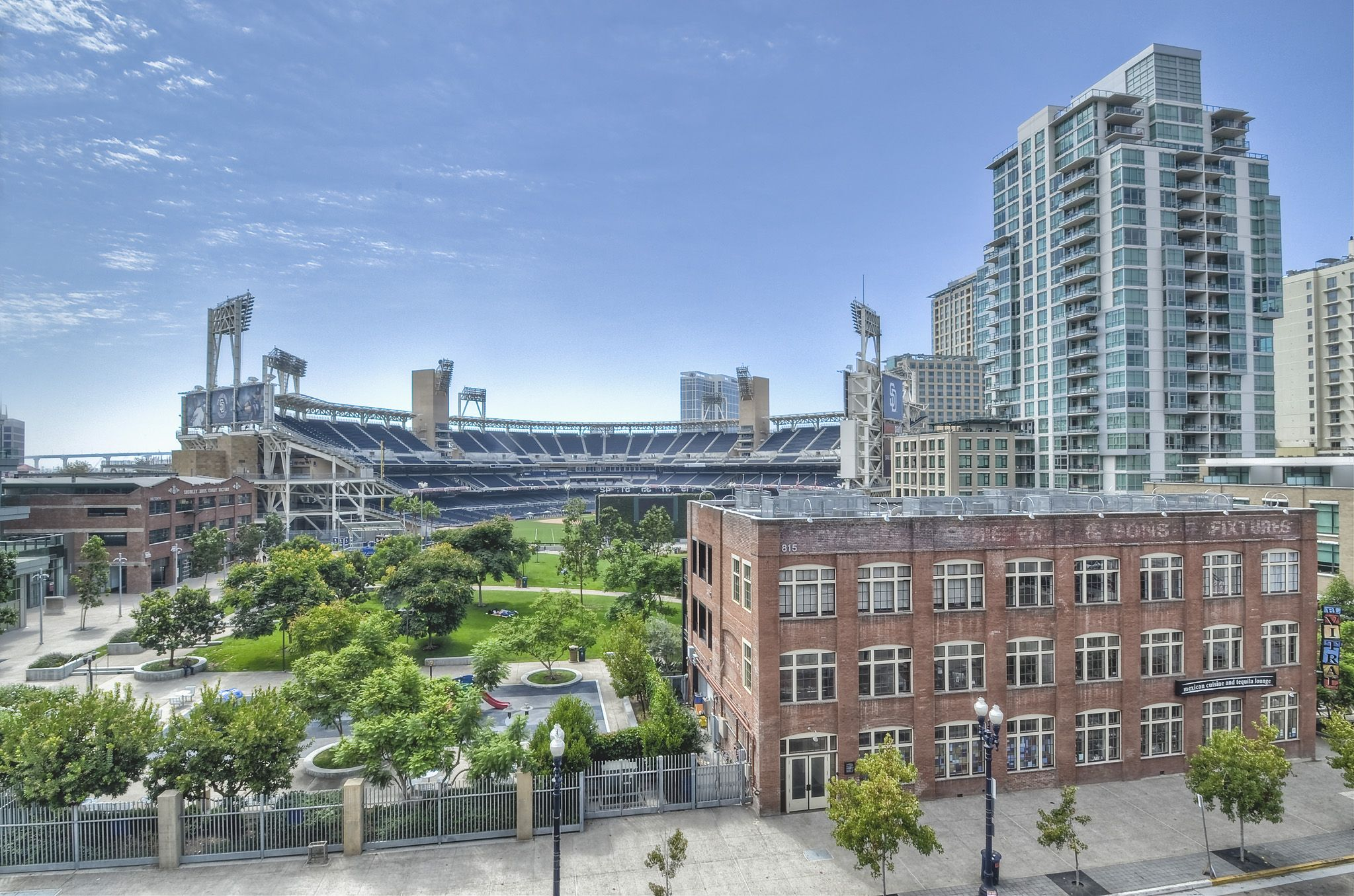 Stadium View Of Petco Park Home Of The San Diego Padres Colorado Real Estate San Diego East Village