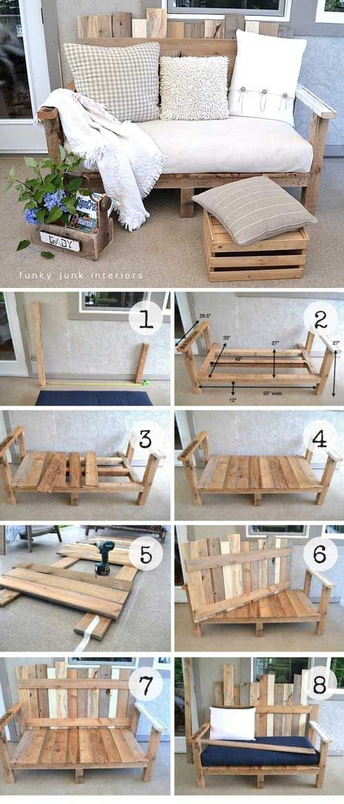 19 Great Home Décor Ideas With Old Wooden Pallets