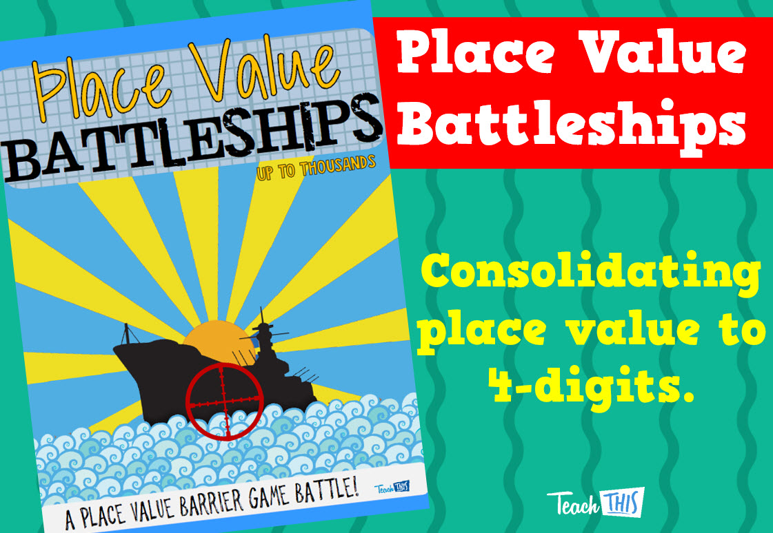 Place Value Battleships - to 1000 | school activities and stuff ...