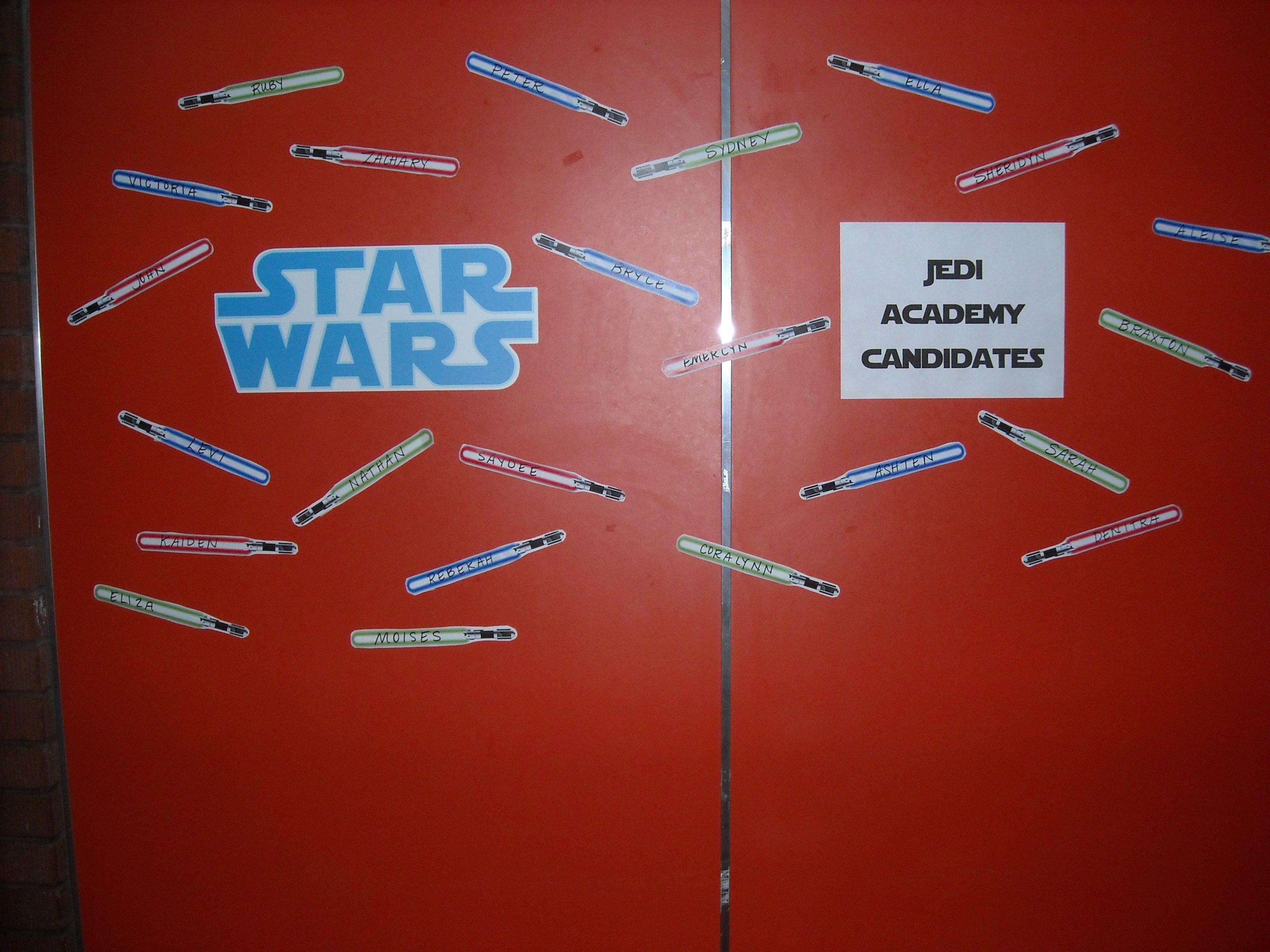 Jedi Academy Candidates