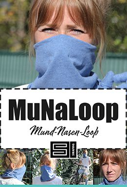 Photo of Kostenloses Schnittmuster: MuNaLoop – The Mouth-Nose-Loop! – Swafing