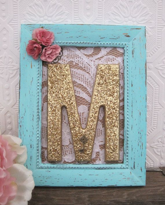 Letter M Nursery Decor Baby From Sea Love And Salt