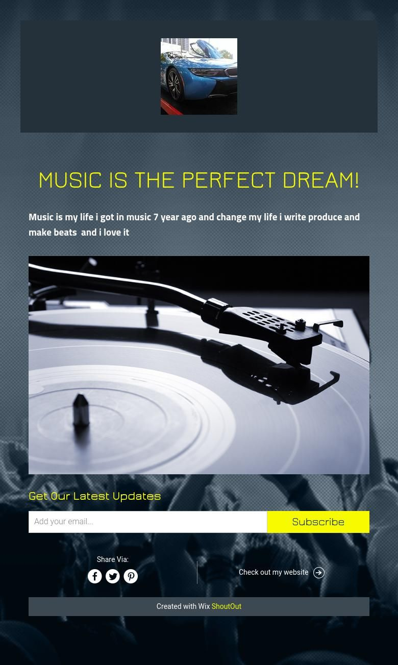 music is the perfect dream!