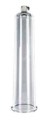 """Size Matters Penis Pump Cylinders - 2.25"""" X 9"""" by Size Matters. $25.38. Pump while maintaining pressure within the cylinder. Size: 2.25"""" X 9"""". Each cylinder contains a state-of-the-art air valve. Each cylinder is hand crafted and made of the finest, industrial strength crystal clear acrylics. The cylinders are tapered toward the top to match the natural anatomy of your penis for maximum comfort. No gaskets are required. Each cylinder contains a state-of-the-art air valve which..."""