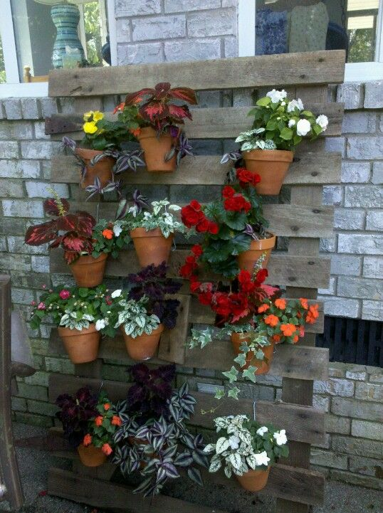 My Barn Gate Flower Wall Container Gardening Home