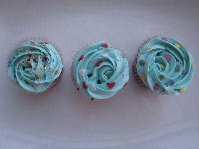 Cupcakes azul.