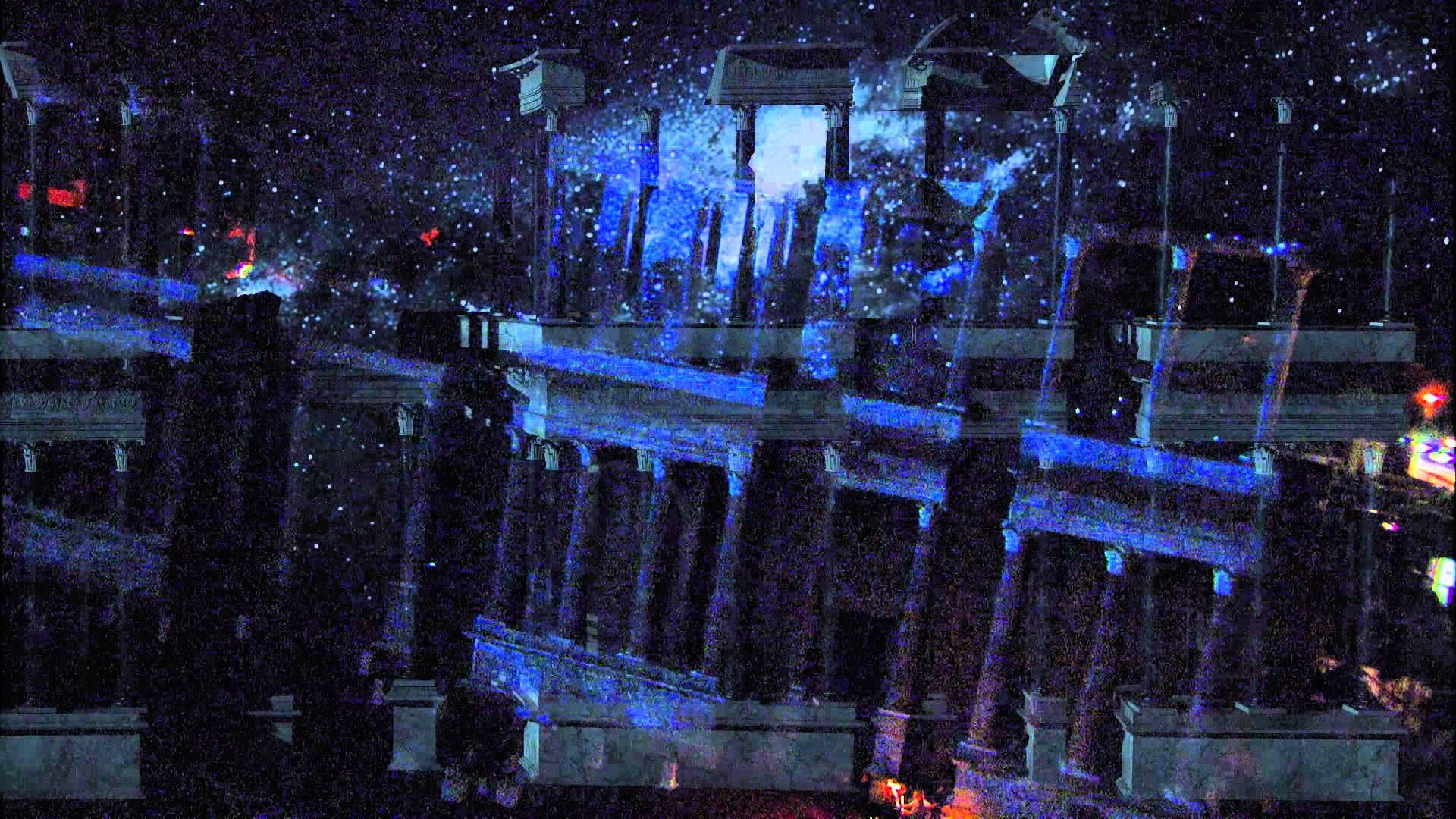 Video Mapping on the Roman theater of Merida for Ceres awards. HD.