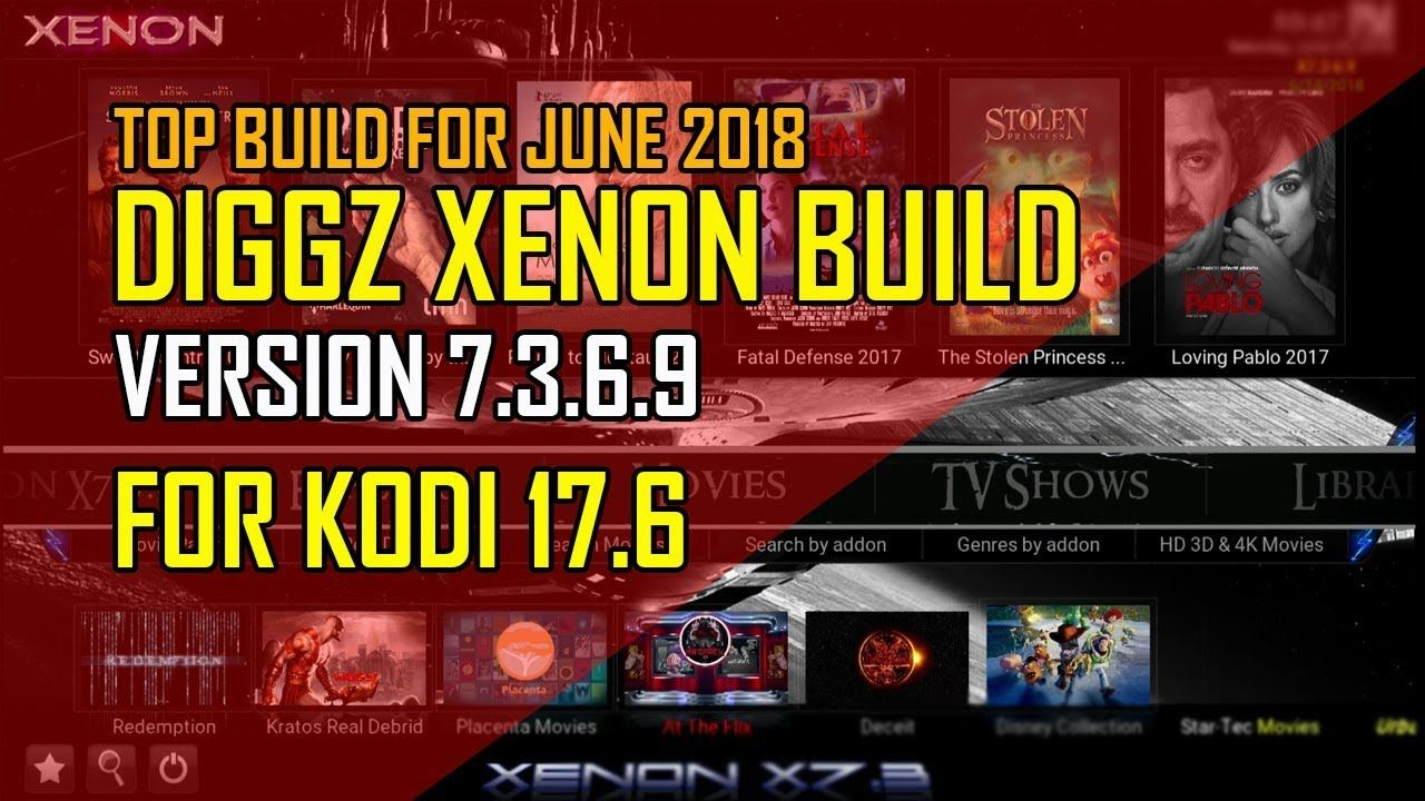 Diggz Xenon Build V7 3 6 9 For Kodi 17 6 From The Chef Wizard | Add