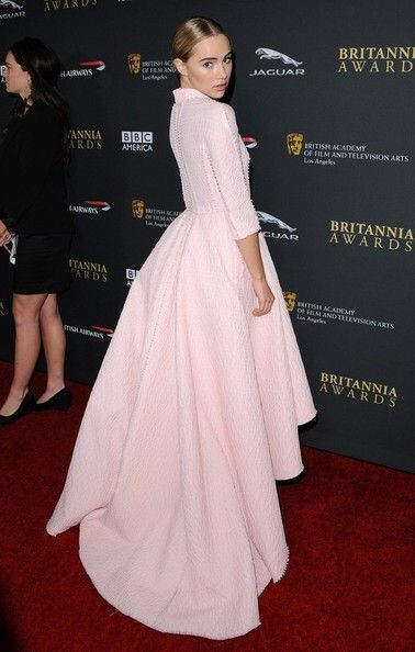 Stars arrive at the BAFTA Los Angeles Jaguar Britannia Awards at the Beverly Hilton Hotel in Beverly Hills on November 9, 2013. Pictured: Su...