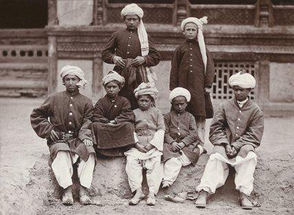 Khaffiristan Slaves Kabul 1880 Photo John Burke 2nd Afghan