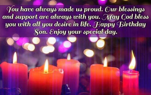 Birthday Wishes For Son Birthday Cards Messages Images Quotes
