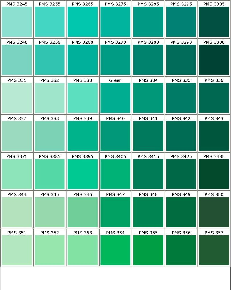 Nuancier pantone vert 1 couleurs pinterest nuancier for Show me the color green