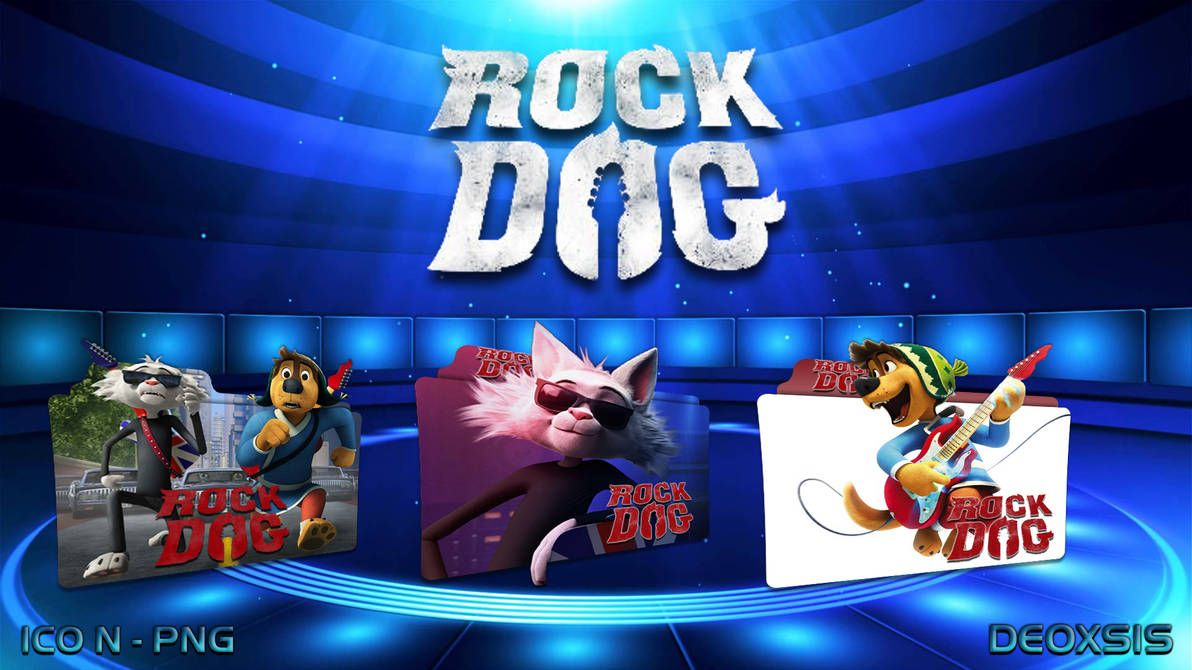 Rock Dog 2016 Folder Icon Pack By Deoxsis On Deviantart Folder Icon Icon Pack Icon