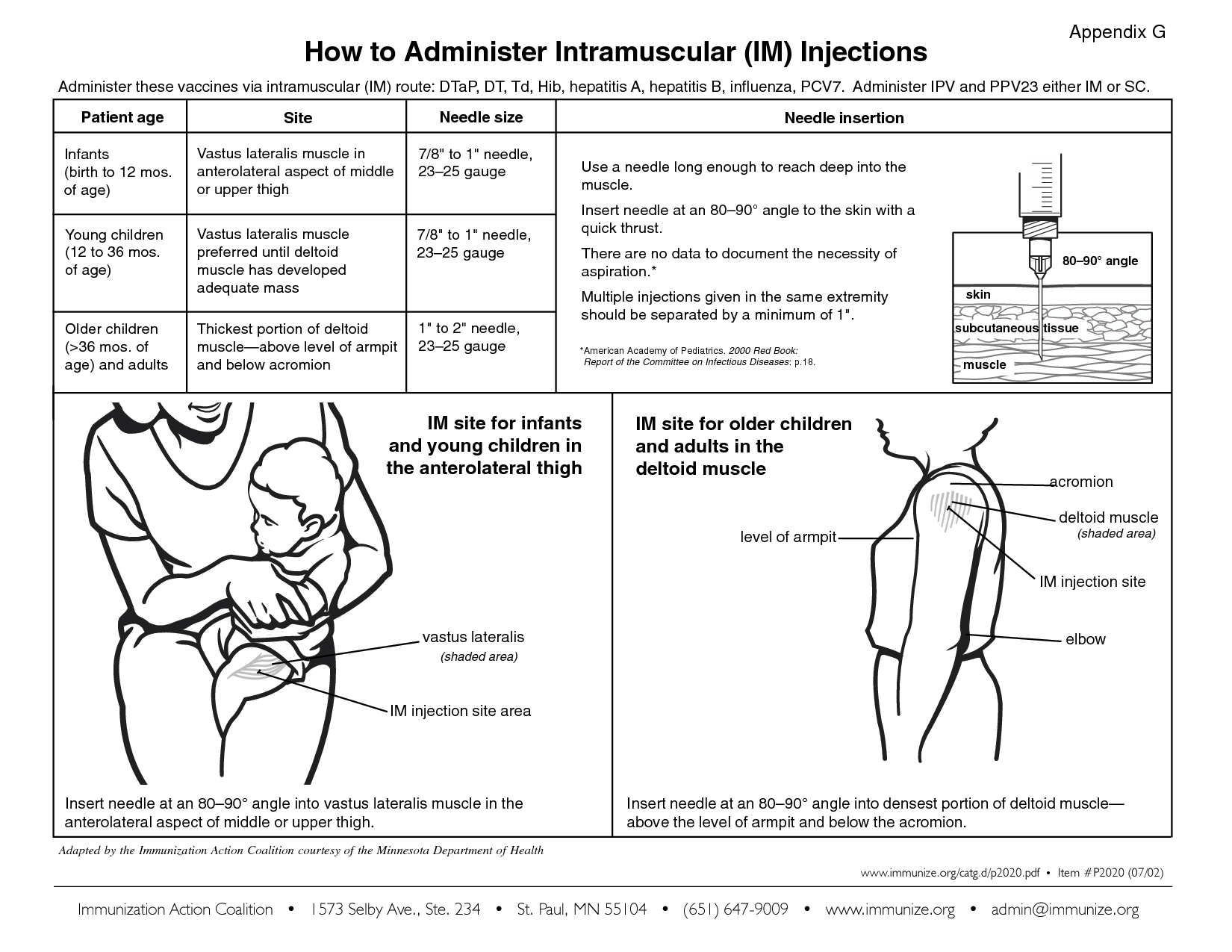Intramuscular Injection With Images