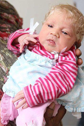 Blonde Blue Eyed And Black Muslim Baby Girl Names Cute Babies Black Is Beautiful