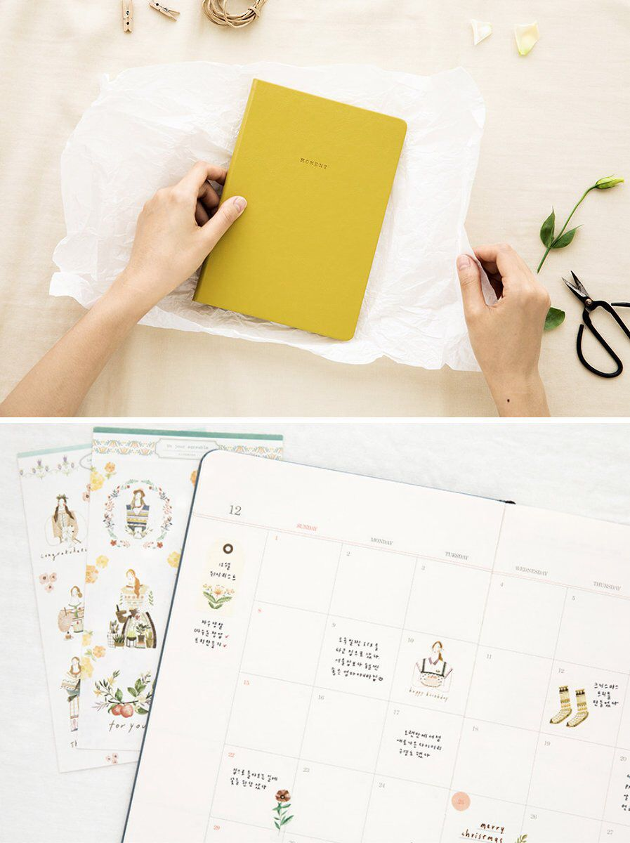 2019 Daily Planner L 8colors 2019 Planner 2019 Daily Planner