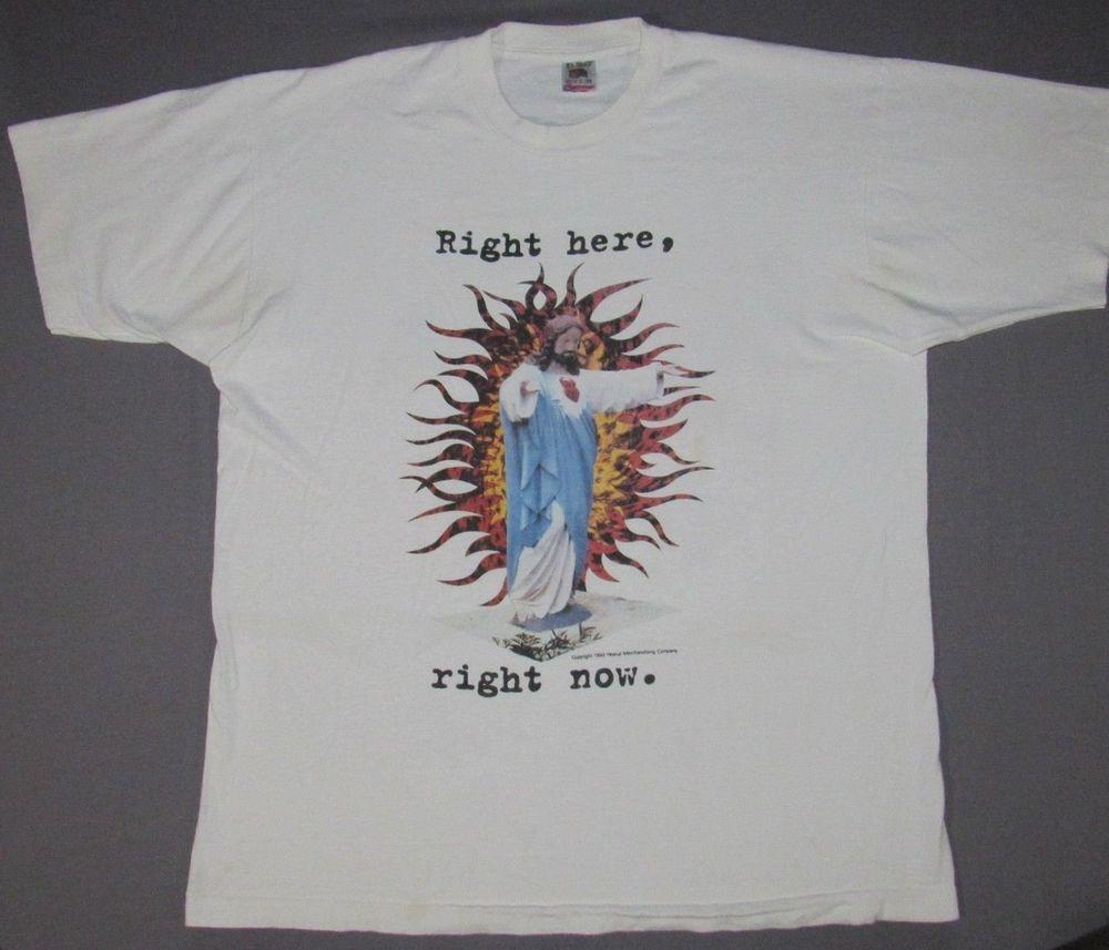 Men S Vintage Van Halen Right Here Right Now 1993 Tour T Shirt Xl Fashion Clothing Shoes Accessories Mensclot With Images Vintage Men Tour T Shirts T Shirts For Women