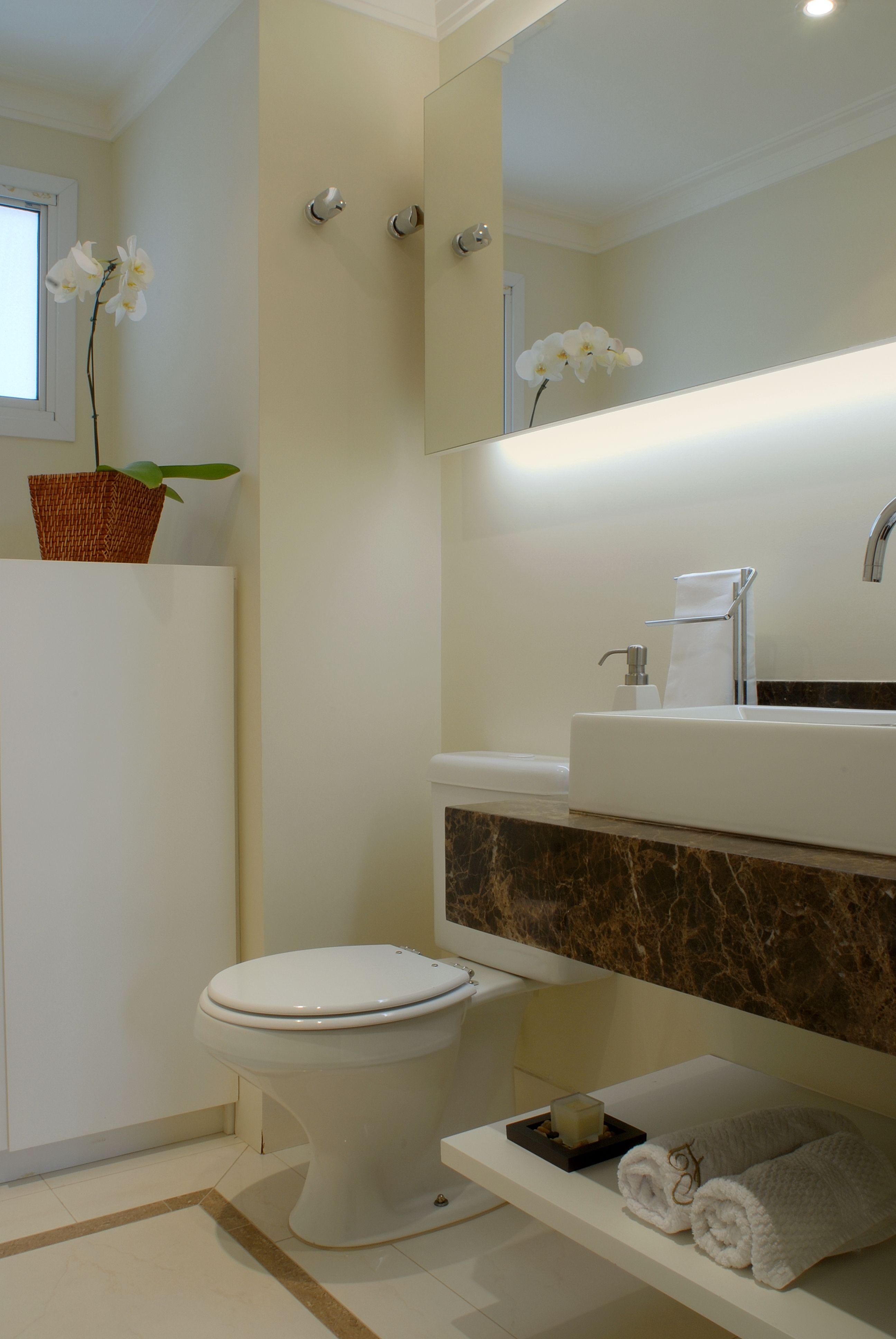 destaca bancada mármore marrom imperial Banheiros Pinterest #4C5D21 2592x3872 Banheiro Com Bancada