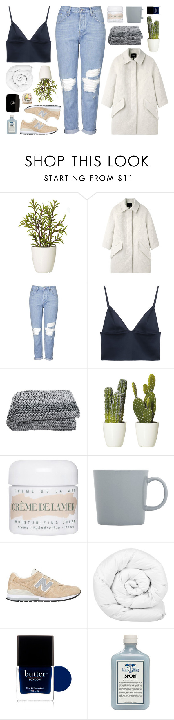 """TIA"" by jessinnnes ❤ liked on Polyvore featuring Isabel Marant, Topshop, T By Alexander Wang, La Mer, iittala, New Balance, Brinkhaus, Butter London, John Allan's and Chanel"