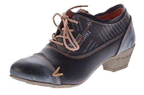 TMA Damen Echtleder Pumps viele Farben TMA 6161 Leder Schuhe Trichterabsatz  Gr. 36 - 42 d234d5105f