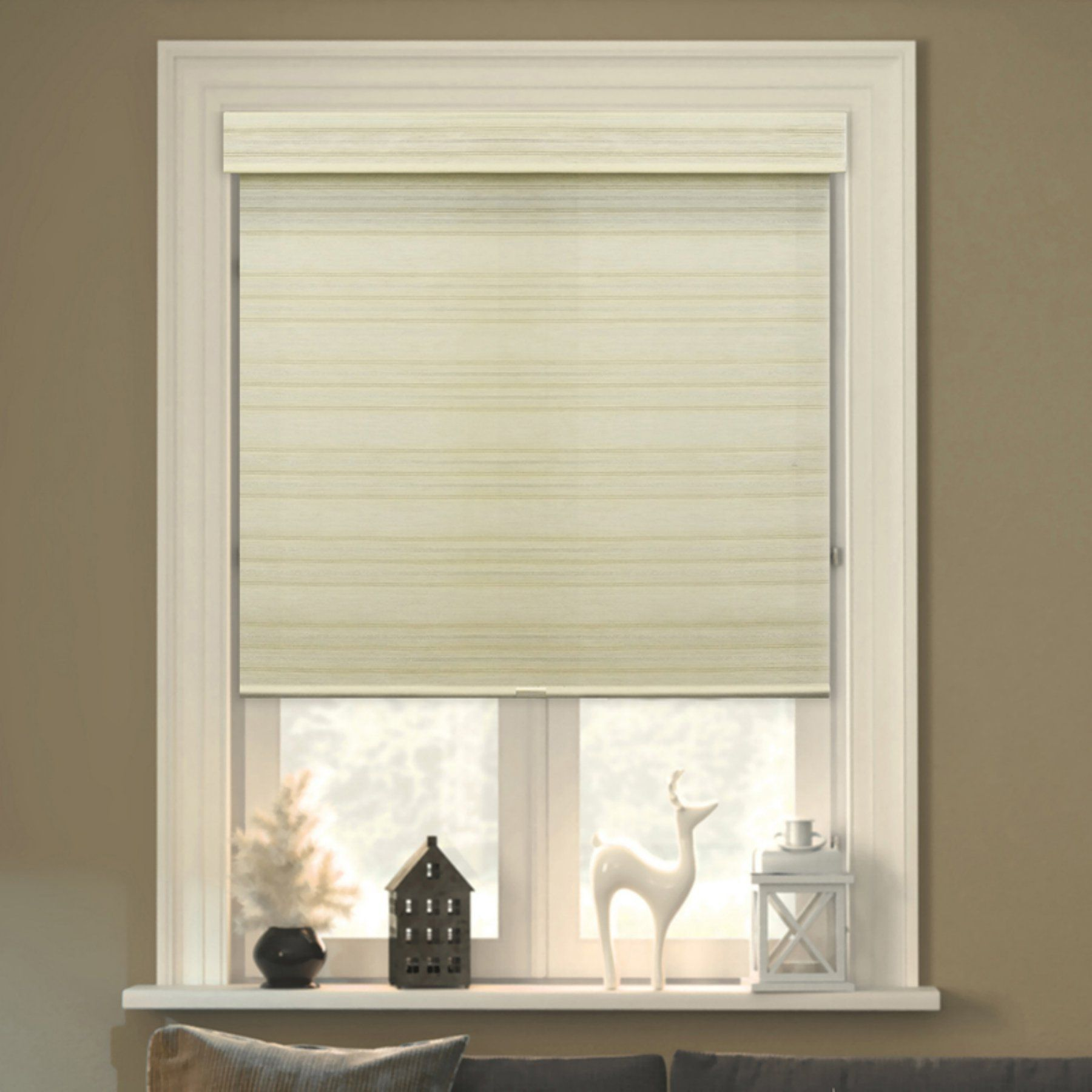 Chicology Cordless Double Layered Roman Shade Cotton CLRMCS2364