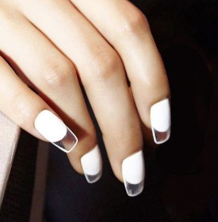 super nails acrylic clear shape ideas  unique manicure
