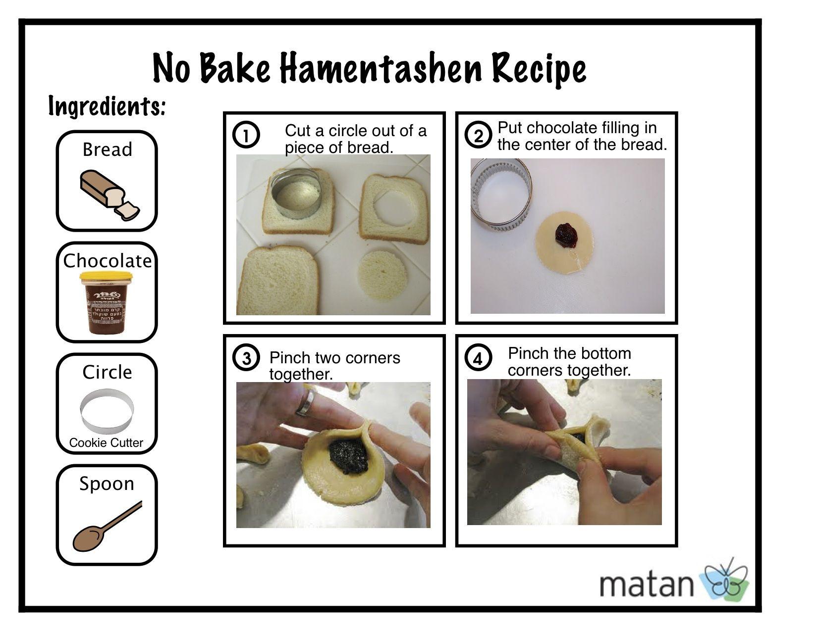 Visual Hamentashen Recipe No Baking Needed