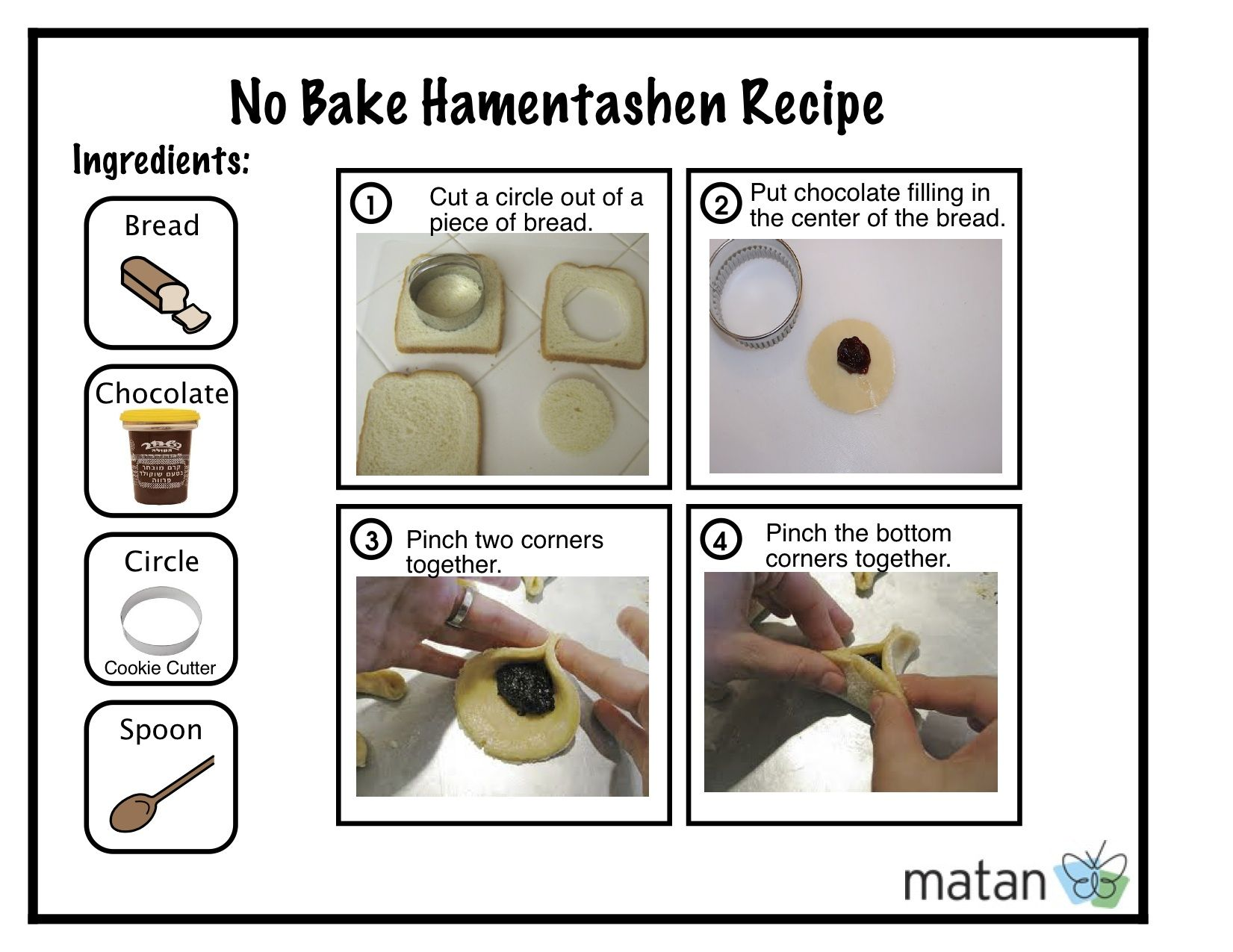No Bake Hamentashen Recipe For Purim Hamentashen Recipe