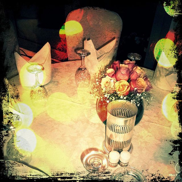 wedding table setting by chloe.yeung