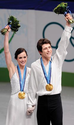 Tessa Virtue and Scott Moir on the Sochi Olympics- a funny interview