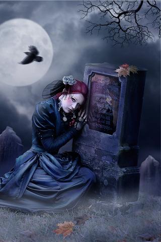 weeping widow Dark gothic art, Gothic fairy, Dark visions