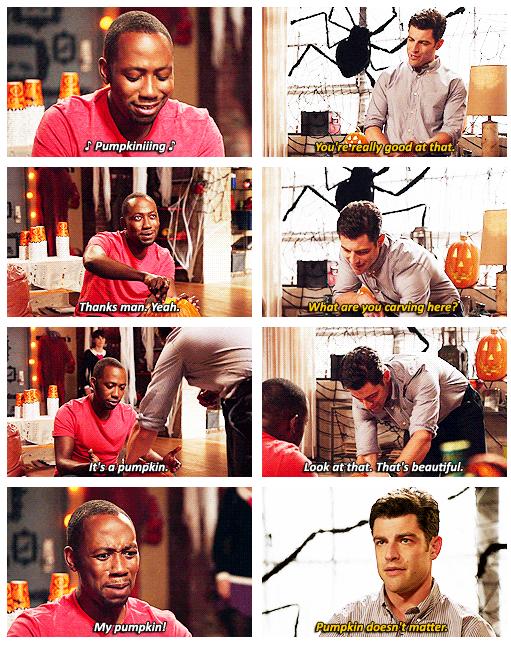 """""""Pumpkiniiing."""""""