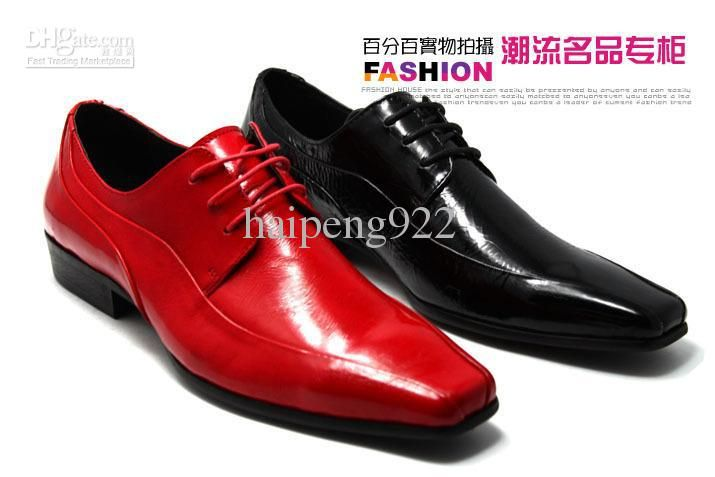 Red Dress Shoes For Men - Dress Xy