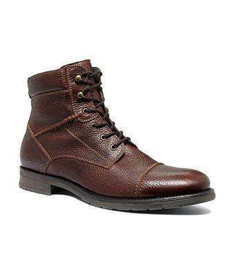 Alfani Boots Lion Captoe Lace Boots Mens Boots Macy S Lace