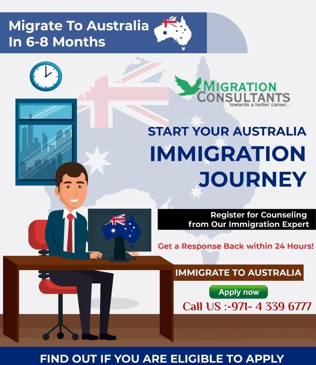 Australian immigration advisors free consultation pr in
