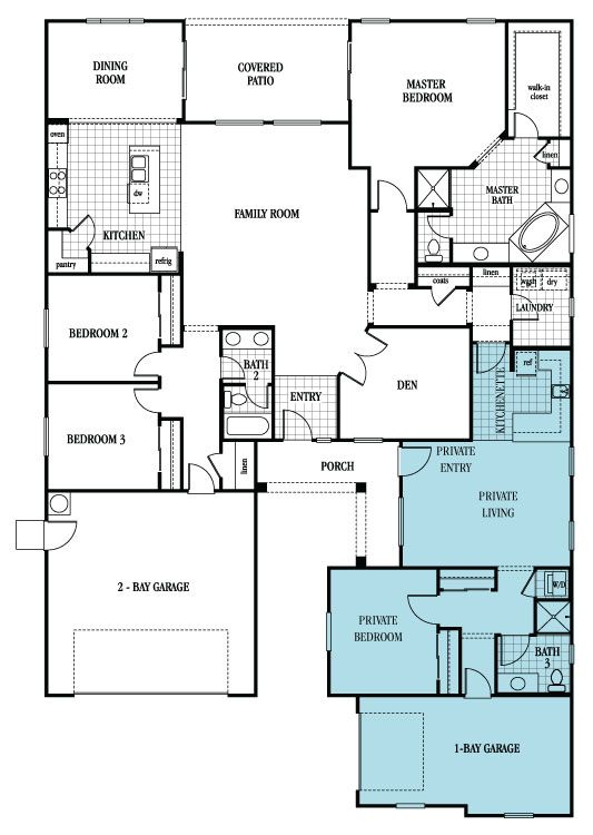 Plan 2935 New Home Plan in The Reserve at Kavala Ranch by Lennar
