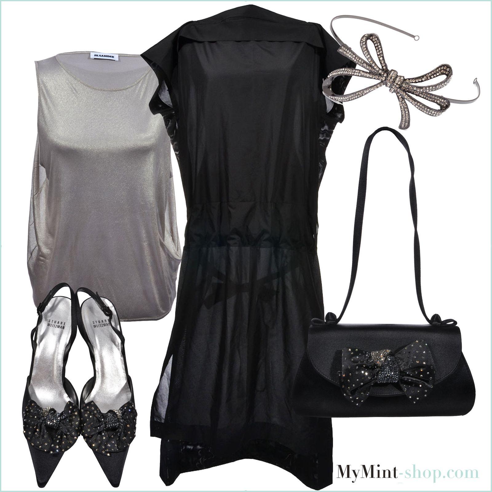 FRIDAY´S NEW ARRIVALS  Dress: #IsseyMiyake Top: #JilSander Haarreifen: #GirlsDreams Schuhe + Tasche: #StuartWeitzman #mymint