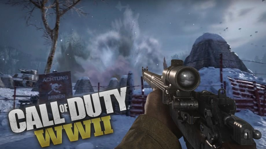 Winter Background Of Call Of Duty Youtube Thumbnail Winter Background Youtube