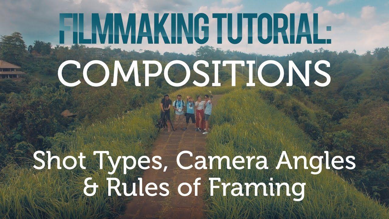 Shot Types, Camera Angles & Rules of Framing [Tutorial Videografi #3 ...