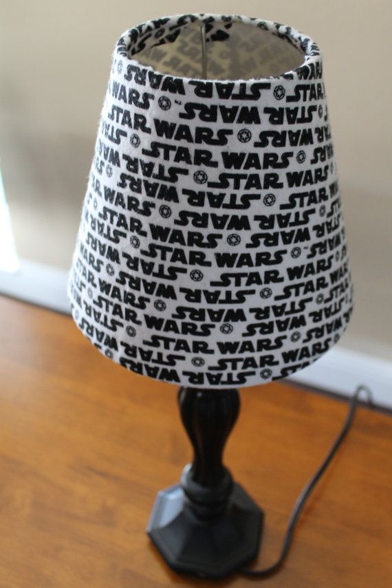 Star Wars Lamp Shade With Logo By Thecraftyadventurer 20 00
