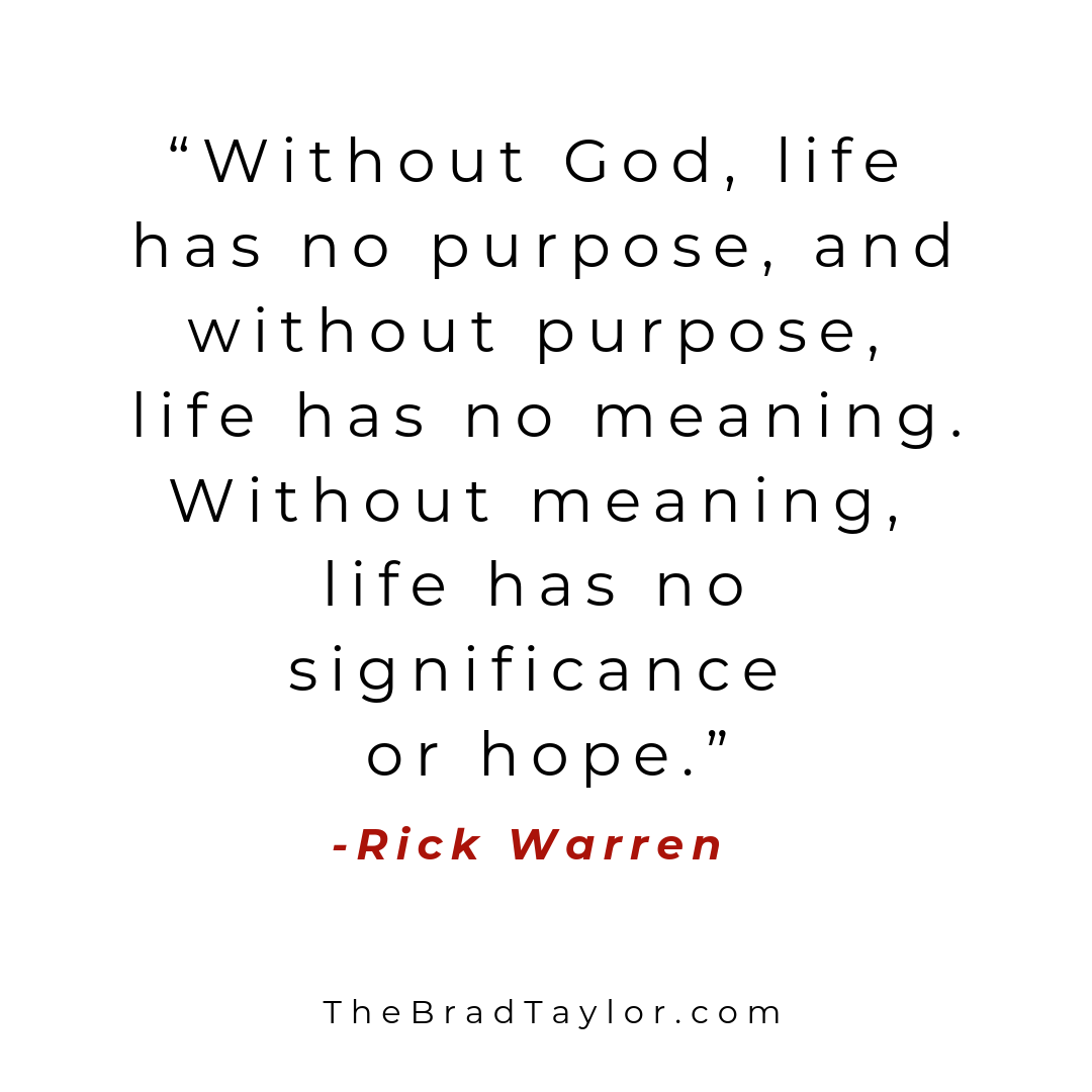 Purpose Driven Life Quotes Image By Gordon Theys On