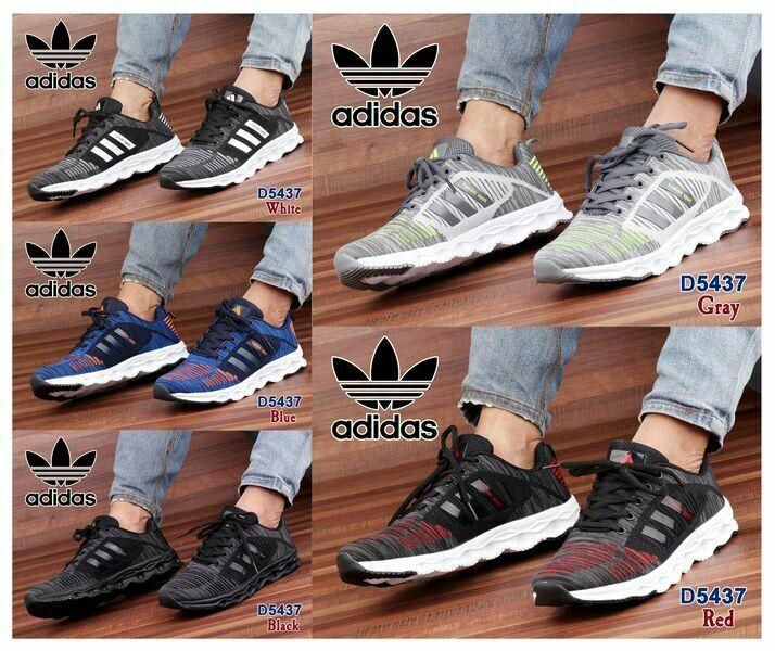 Sport Shoes Adidas D5437 Bahan Parasut Kualitas Semi Premium