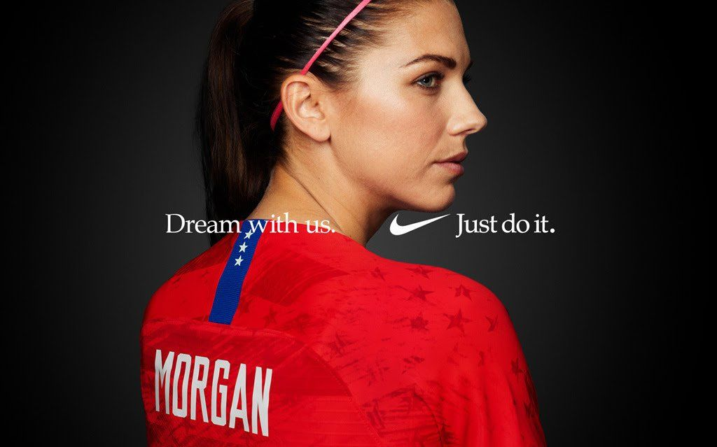 Alex uswnt 2019 world cup team nikes dream with