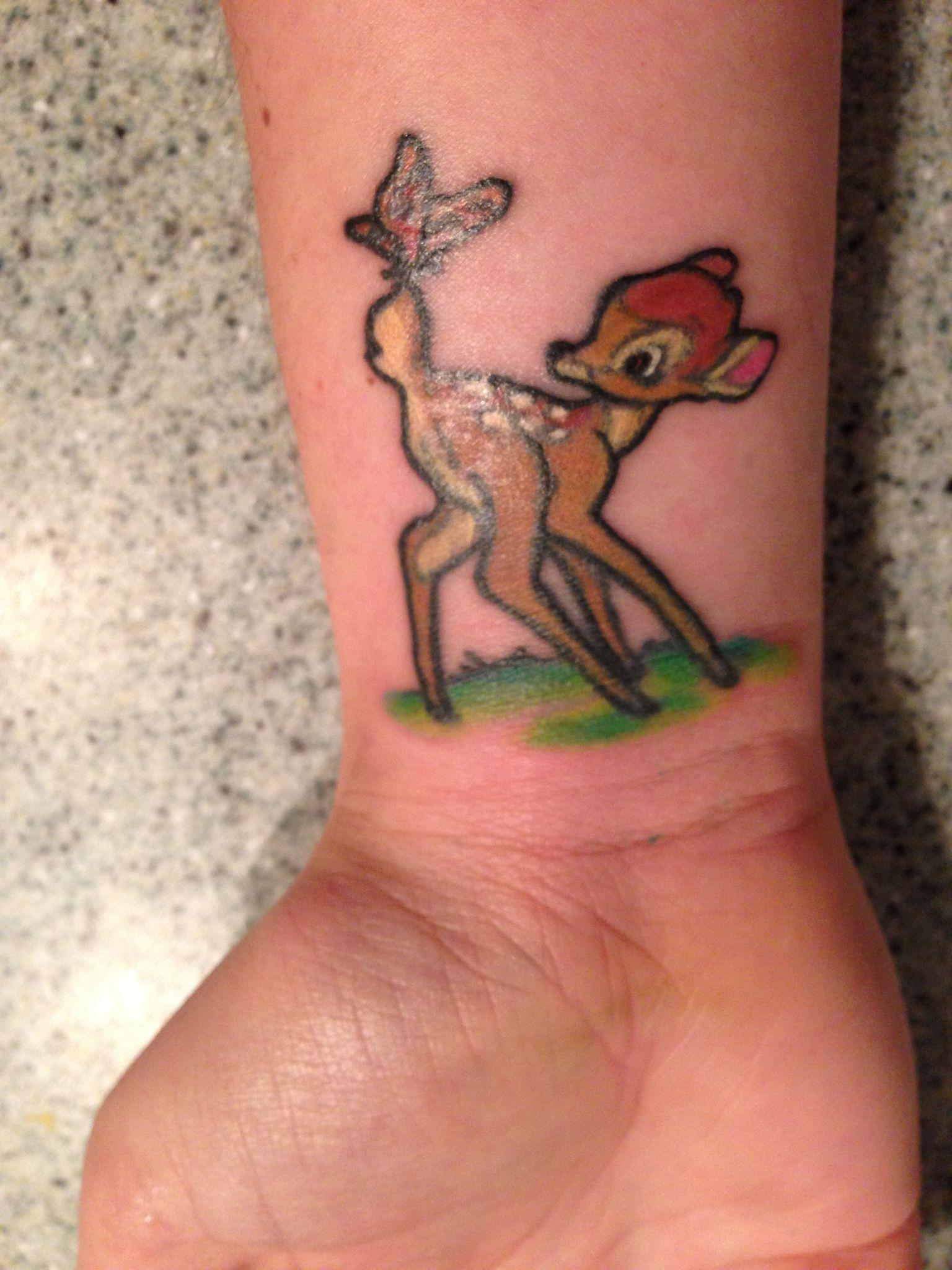 bambi tattoo photo pinterest