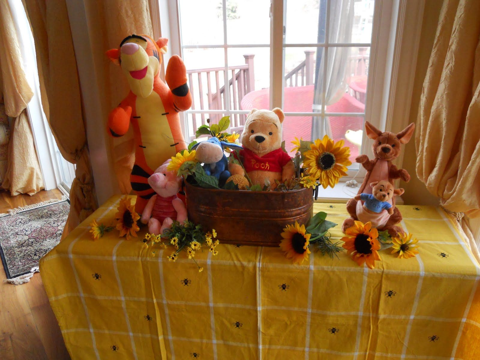 How To Use Winnie The Pooh Theme On Your Baby Shower | Baby Shower .